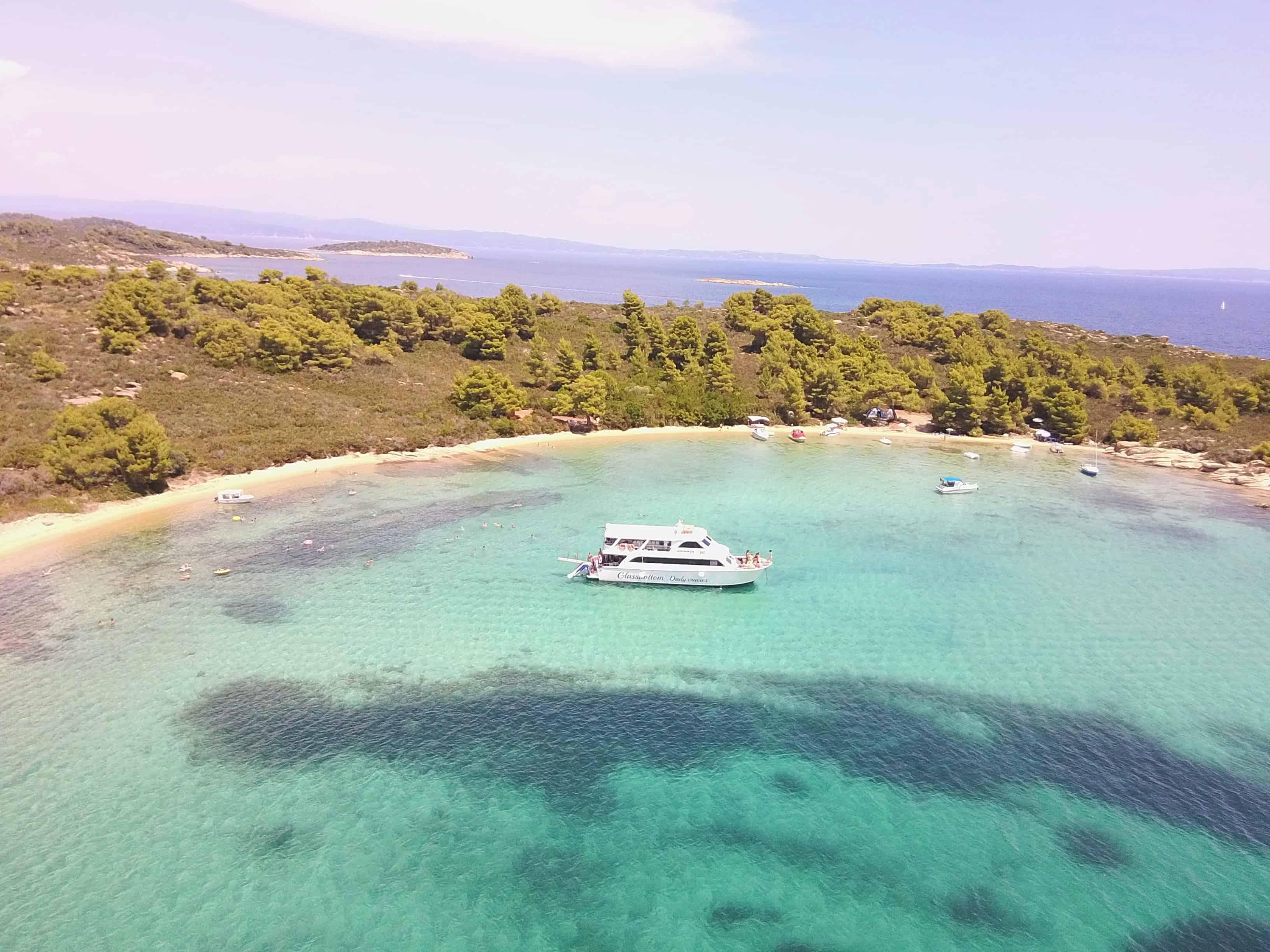 Blue Lagoon Vourvourou Sithonia Alikes Lagoon